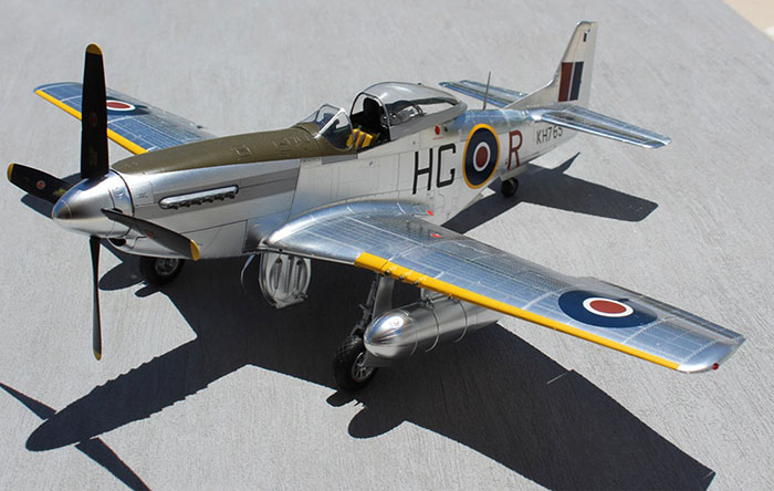 Tamiya 1 32 Scale P 51d Mustang Plated Version By Roger Hardy