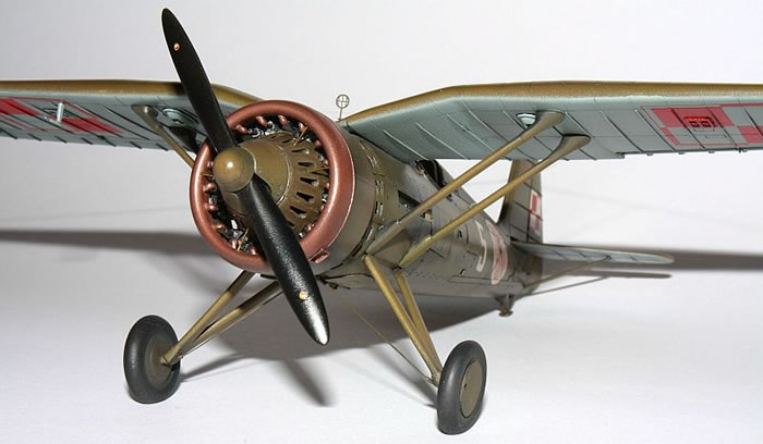Mirage 1//48 PZL P.11c