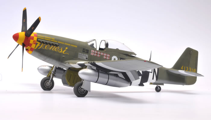 Revell 1/32 scale P-51D Mustang Review by Brett Green