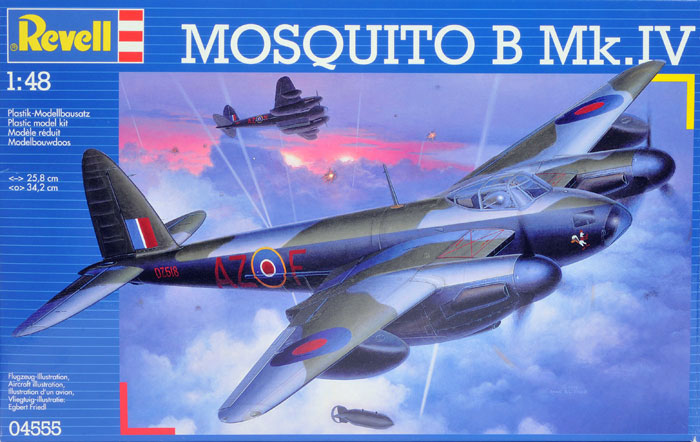 Mosquito Fb Mk Vi Nf Ii Set Tamiya Image 1