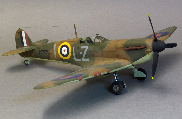1//48 Snap Spitfire Mark 1