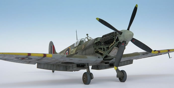 Tamiya S 1 32 Scale Supermarine Spitfire Mk Ixc By Artur