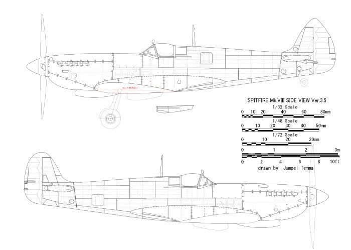 Eduard 1 72 Spitfire Mk Viii By Jumpei Temma
