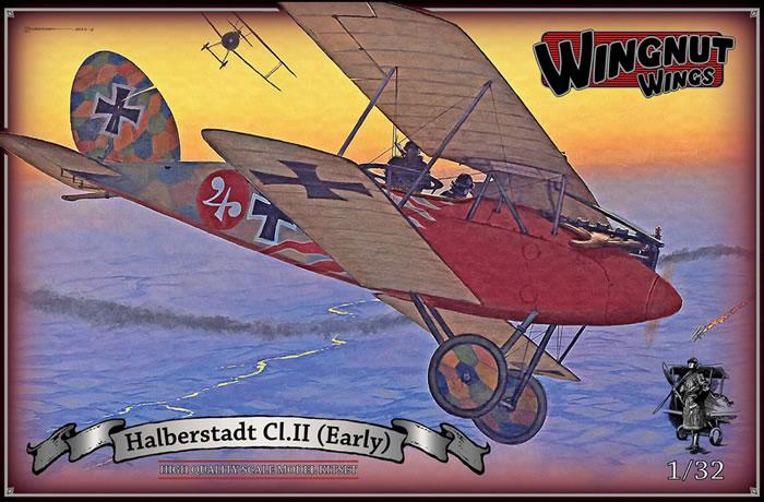 The Halberstadt Cl.II was a highly successful escort fighter ...